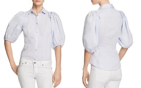 KAREN MILLEN Balloon Sleeve Shirt - 100% Exclusive - Bloomingdale's_2