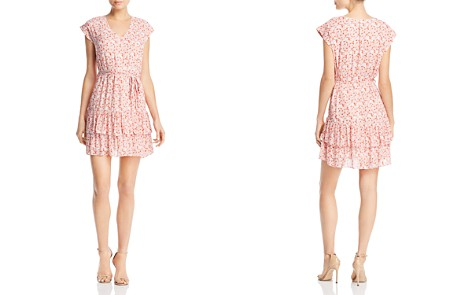 AQUA Ruffled Swirling Floral Print Dress - 100% Exclusive - Bloomingdale's_2