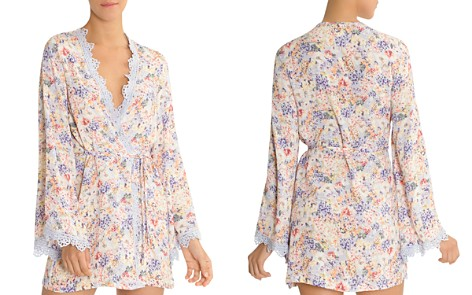 In Bloom by Jonquil Floral Short Robe - Bloomingdale's_2