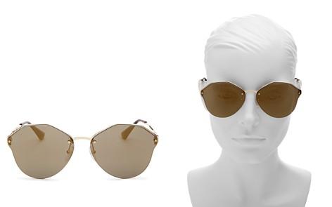 Prada Rimless Round Sunglasses, 66mm - Bloomingdale's_2