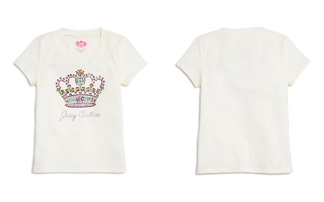 Juicy Couture Black Label Girls' Rhinestone Crown Tee - Big Kid - Bloomingdale's_2