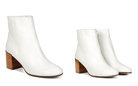 Vince Blakely Leather Block Heel Booties - Bloomingdale's_2