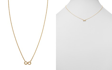 """Moon & Meadow Infinity Pendant Necklace in 14K Yellow Gold, 16"""" - 100% Exclusive - Bloomingdale's_2"""