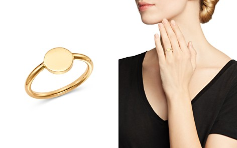 Moon & Meadow Round Signet Ring in 14K Yellow Gold - 100% Exclusive - Bloomingdale's_2