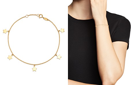 Moon & Meadow Star Charm Bracelet in 14K Yellow Gold - 100% Exclusive - Bloomingdale's_2