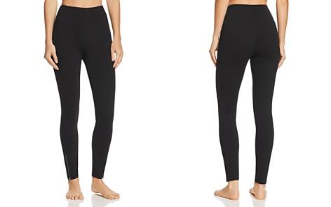 HUE Simply Stretch Ankle Zip Skimmer Leggings - Bloomingdale's_2