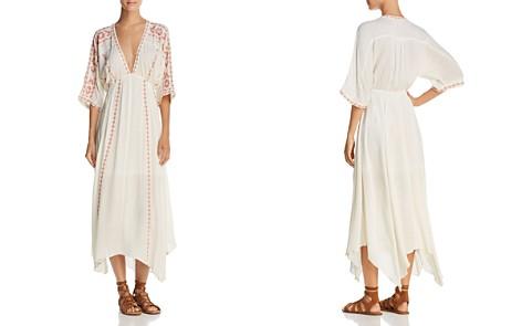 En Créme Embroidered Midi Dress - 100% Exclusive - Bloomingdale's_2