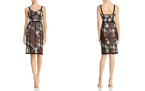 BRONX AND BANCO Marietta Floral Illusion Dress - Bloomingdale's_2