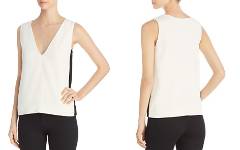 Burberry Derora Side Stripe Top - Bloomingdale's_2
