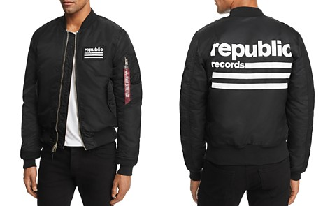 Alpha Industries x Republic Records Bomber Jacket - Bloomingdale's_2