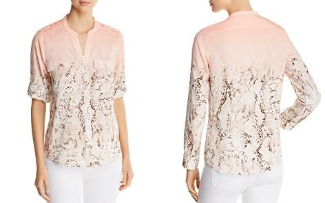 Calvin Klein Ombré Snake-Print Utility Top - 100% Exclusive - Bloomingdale's_2