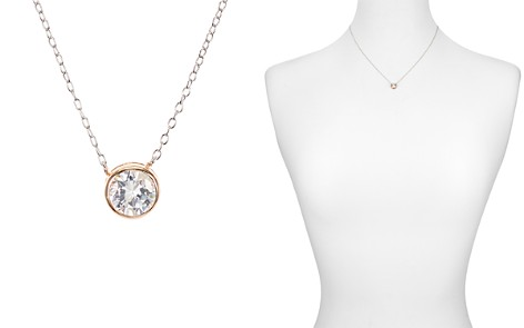 "Argento Vivo Bezel Pendant Necklace, 16""L - Bloomingdale's_2"
