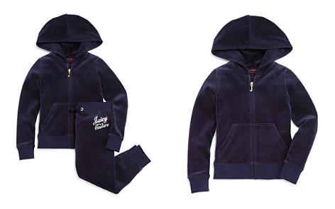 Juicy Couture Black Label Girls' Velour Rhinestone Robertson Jacket & Zuma Pants - Big Kid - Bloomingdale's_2