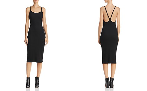 FRENCH CONNECTION Tommy Ribbed Racerback Midi Dress - Bloomingdale's_2