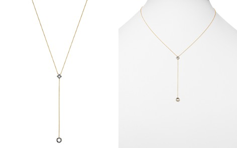 """MATEO 14K Yellow Gold Diamond Circle Y Drop Necklace, 16"""" - Bloomingdale's_2"""
