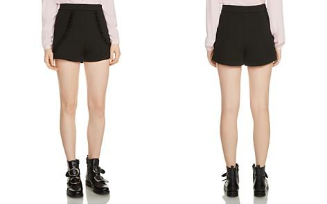 Maje Inala Ruffle-Trim Shorts - Bloomingdale's_2