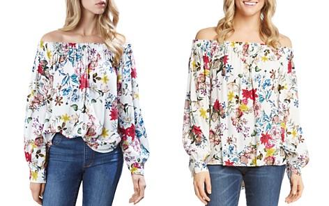 Karen Kane Off-the-Shoulder Floral Top - Bloomingdale's_2