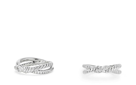 David Yurman Continuance Twist Ring with Diamonds - Bloomingdale's_2