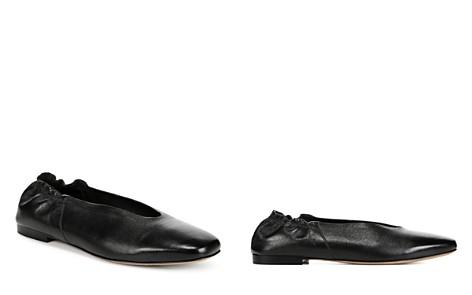 Vince Women's Lorelle Leather Ballet Flats - Bloomingdale's_2