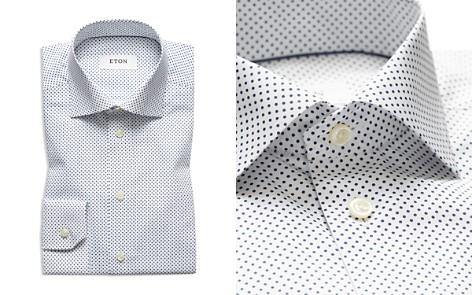 Eton Micro Dot Slim Fit Dress Shirt - Bloomingdale's_2