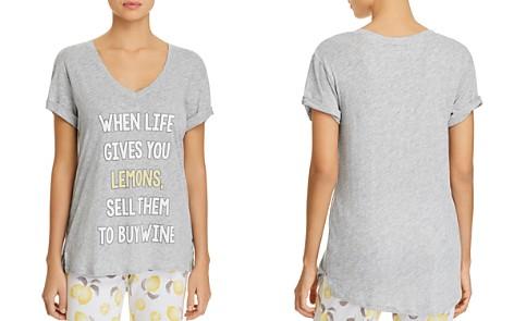 PJ Salvage Lemons Tee - Bloomingdale's_2