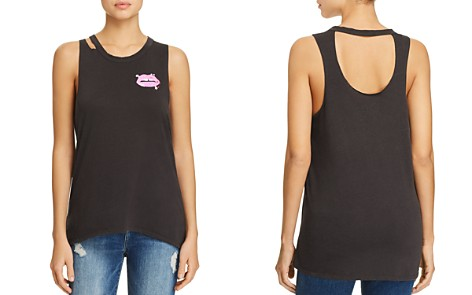 CHASER Back-Cutout Graphic Muscle Tee - Bloomingdale's_2
