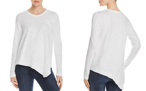 Wilt Long-Sleeve Asymmetric-Hem Tee - Bloomingdale's_2