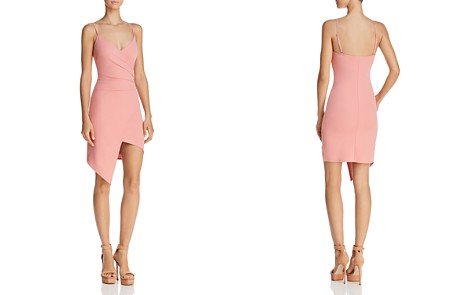 Sunset + Spring Ruched Faux Wrap Dress - 100% Exclusive - Bloomingdale's_2