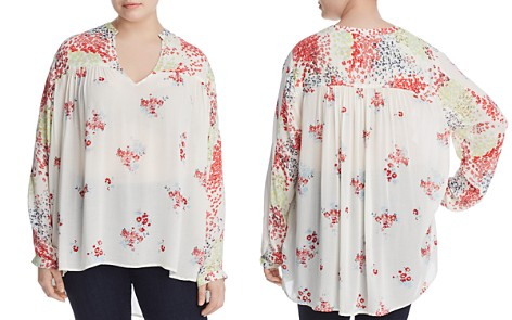 Lucky Brand Plus Floral Print Tunic - Bloomingdale's_2
