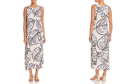 NIC+ZOE Etched Leaves Maxi Dress - Bloomingdale's_2