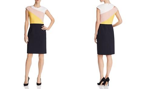 BOSS Danouk 1 Layered-Look Sheath Dress - Bloomingdale's_2