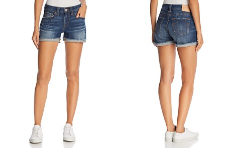 True Religion Jennie Denim Shorts in Gen Z - Bloomingdale's_2