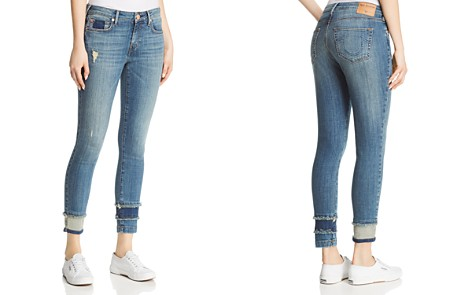 True Religion Jennie Curvy Skinny Shadow-Hem Jeans in Broadband Blues - Bloomingdale's_2