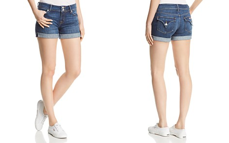Hudson Mid-Rise Denim Shorts in Double Deal - Bloomingdale's_2