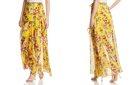 FRENCH CONNECTION Linosa Floral-Print Wrap Skirt - Bloomingdale's_2