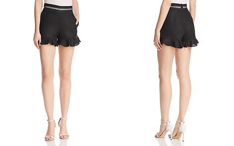 Karina Grimaldi Tracey Ruffled Mini Shorts - Bloomingdale's_2