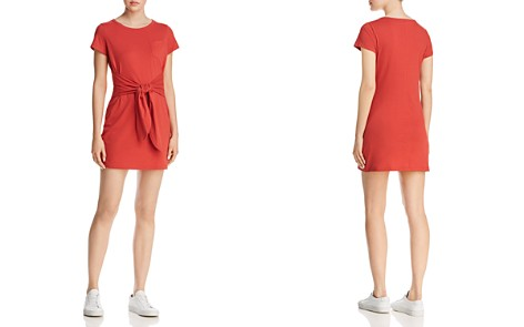Rebecca Minkoff Mary Tie-Front Knit Mini Dress - Bloomingdale's_2