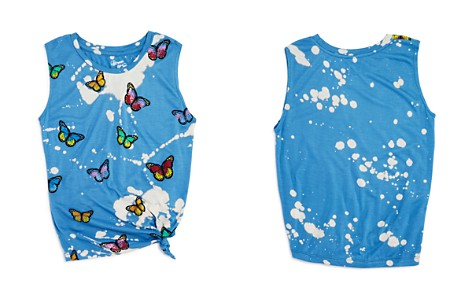 Flowers by Zoe Girls' Bleached Butterfly Tank - Little Kid - Bloomingdale's_2