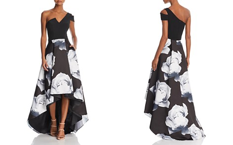 AQUA One-Shoulder Floral Ball Gown - 100% Exclusive - Bloomingdale's_2