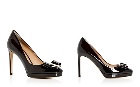 Salvatore Ferragamo Women's Osimo Patent Leather High-Heel Platform Pumps - Bloomingdale's_2