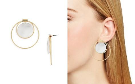 AQUA Double Loop & Disc Drop Earrings - 100% Exclusive - Bloomingdale's_2