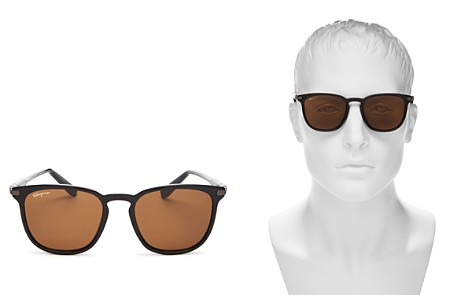 Salvatore Ferragamo Square Sunglasses, 52mm - Bloomingdale's_2