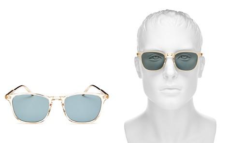 GARRETT LEIGHT Square Sunglasses, 50mm - Bloomingdale's_2