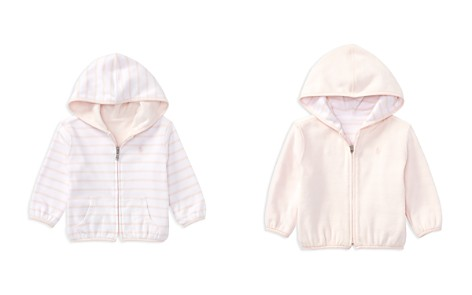 Ralph Lauren Girls' Reversible Cotton Hoodie - Baby - Bloomingdale's_2