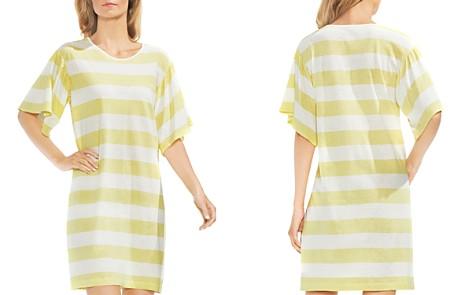 VINCE CAMUTO Bell Sleeve Stripe Dress - Bloomingdale's_2