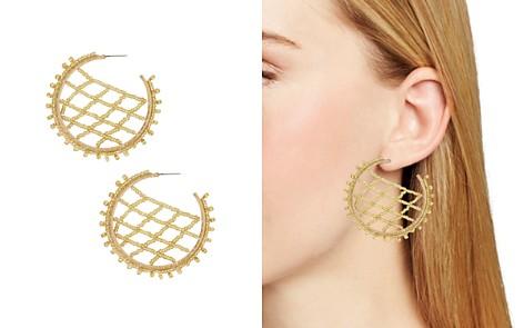 BAUBLEBAR Crochet Lattice Hoop Earrings - Bloomingdale's_2