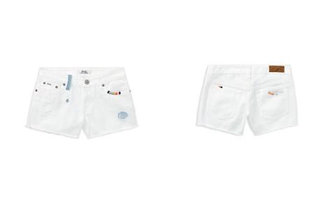 Polo Ralph Lauren Girls' Distressed White Denim Shorts - Little Kid - Bloomingdale's_2