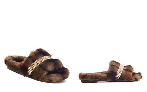 KENDALL and KYLIE Women's Shade Faux-Fur Slide Sandals - Bloomingdale's_2