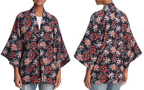 Elizabeth and James Drew Tangerine Pinwheel Kimono - Bloomingdale's_2