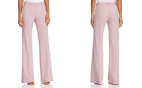 Theory Demitria Classic Stretch-Wool Pants - Bloomingdale's_2
